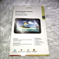 "inessentials universal screen protector 7-8"" tablets NIB"