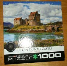 Jigsaw Puzzle, 1000 EILEAN DONAN CASTLE SCOTLAND Complete Eurographics made USA