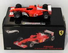 Modellini statici di auto da corsa Formula 1 Hot Wheels michael schumacher , Scala 1:43