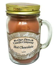 Hot Chocolate Scented Candle in 13 oz Mason Jar by Our Own Candle Company