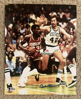 CALVIN MURPHY Signed 8x10 Basketball Photo Beckett BAS G66685 Houston Rockets