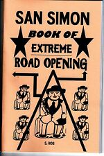 SAN SIMON BOOK OF EXTREME ROAD OPENING S. Rob occult magick folk saint opener