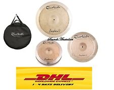 TURKISH CYMBALS EUPHONIC CYMBAL PACK BOX SET (14HH-16C-20R +BAG)