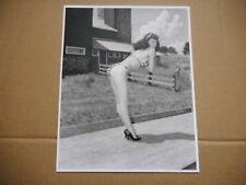 8x10 Photo - Bettie Page - Pinup Model - #BP025 - BIKINI outdoors