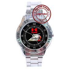 NEW Kawasaki Drifter Indian CUSTOM CHROME MEN WRIST WATCH
