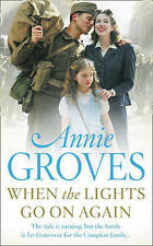 When the Lights Go on Again by Annie Groves (Paperback) New Book