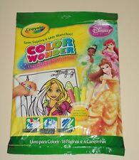 Crayola Disney Princess Color Wonder 18 Pages / 4 Markers Spanish Espanol