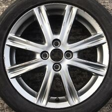 "Genuine Toyota Yaris 16"" Alloy Wheel 8 Spoke Gunmetal Grey Spare Rim Tyre 195 50"