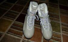 V3 PowerTek Womens  Figure Ice Skates, Size 6  Senior Soft Techedge TUV Blades