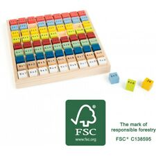 """Table De Multiplication Multicolore """"Educate"""" 11163"""