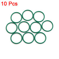 10pcs Green Universal FKM O-Ring Seal Gasket Washer for Auto Car 22 x 1.5mm