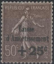"FRANCE STAMP TIMBRE N° 267 b "" CAISSE AMORTISSEMENT VARIETE "" NEUF xx TTB K236"