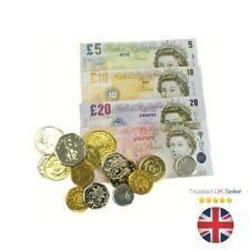 Kids Toy Play Money Notes Coins School Learning Children Shops Learn Educational