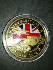 Moneta medaglia commemorativa World War 1914-18