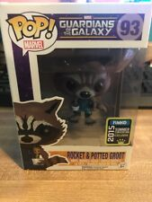 Rocket with Potted Groot SDCC 2015 Pop! Marvel Guardians of the Galaxy Exclusive
