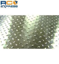 Hot Racing 1/10 Scale Aluminum Silver Diamond Plate (2) ACC1808DP