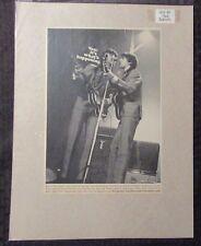 1966 THE BEATLES Vox Guitars / Amps 7x10 Print Ad FN 6.0 Paul & George