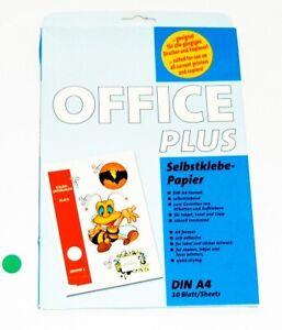 Office Plus Selbstklebe-Papier DIN-A4 zum Gestalten von Etiketten und Aufklebern