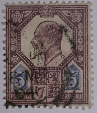 Travelstamps: 1902 Great Britian Stamps Scott #134 5d Edward Vii Used Ng