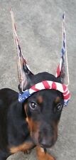 Posting Trainer Regular Sz. Doberman Pincher JR HARNESS cropped ear w/ strap