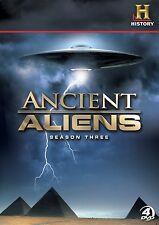 Ancient Aliens: Season Three (DVD, 2012, 4-Disc Set)