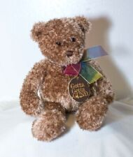 Gotta Getta Gund Bearessence w/ Rainbow Ribbon Brown Teddy Bear Plush Toy