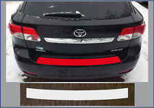 Clear Protective Foil Bumper Transparent TOYOTA AVENSIS T27 Estate from 2012