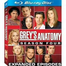 Grey's Anatomy - The Complete Fourth Season (Blu-ray Disc, 2008, 5-Disc Set) NEW