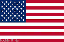 UNITED STATES U.S.A. FLAG VINYL DECAL STICKER
