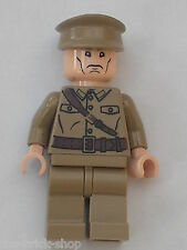 RARE Personnage LEGO INDIANA JONES minifig Colonel Dovchenko / Set 7626 & 7628