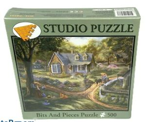 "Bits & Pieces 500 Piece Studio Puzzle - Spring Gathering - NISB - 16""X 20"""