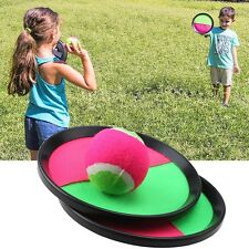 NEW Outdoors Play Toss & Catch Sports Game Set Kids w/ Ball & Grip Mitts