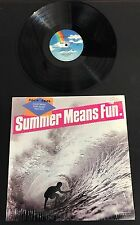Summer Means Fun, California Surf Music 1962-1974, Import LP, Promo Copy!