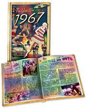 1967 Flickback Mini-Book 51st Birthday Gift or Anniversary Gift