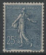 "FRANCE STAMP TIMBRE YVERT 205a "" SEMEUSE LIGNEE 1F BLEU- NOIR"" NEUF xx SUP  K801"