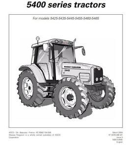 Massey Ferguson 5400 series Operators Manual