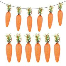 Wall Easter Party Hanging Ornaments Creative Foam Carrot Home Decor Supply 20pcs