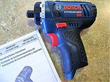 NEW Bosch PS21 PS21B 12 Volt MAX Lithium Cordless Drill Pocket Driver (BareTool)