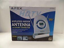 Apex SM550 Digital Amplified Indoor Silver Antenna HDTV Smart Connector