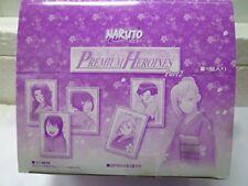 Mega House NARUTO Premium Heroines Part 2 All 10 Types Full Complete Figure F/S