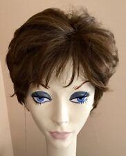 NWT JACQUELYN Wig HUMAN HAIR Blend RITA 10-7 Light Brown Monotop
