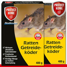Protect Home 2 x 400 Outil Rodicum Ratten Appât