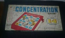 Vintage CONCENTRATION Game 14TH Edition 1970 Rolomatic Changer