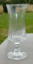 Verre à absinthe en verre soufflé taillé. XIXe s.