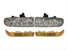 FOR 98-04 S10 PICKUP / 98-05 BLAZER MID SIZE COMPOSITE HEADLAMP SIGNAL LIGHT 4PC