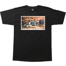Dogtown Greetings From Postcard Skateboard T Shirt Black Xxl