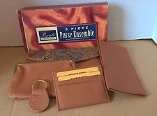 Ronte of Beverly Hills 5 Piece Purse Ensemble NWT. Multicolor.