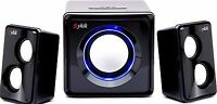 Sykik SP0232BK Bluetooth Stereo System, Black- Wireless Speakers Music Streaming