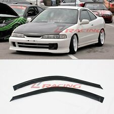 For 94-01 Acura Integra 2DR Side Window Visors 2pcsn Window Rain Guard DC2 JDM