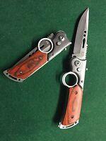 couteau pliant de poche style fusil lame de 9cm
